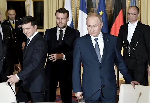 В Кремле заявили о разногласиях Путина с Зеленским