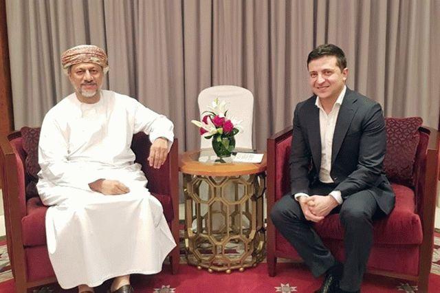 Зеленский провел ряд встреч в Омане