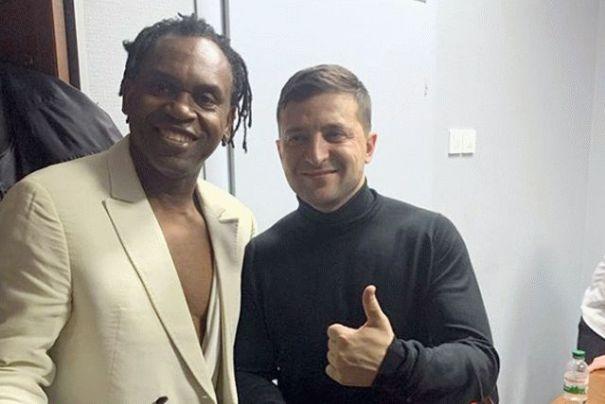 Dr. Alban: Зеленский помог попасть мне в Украину