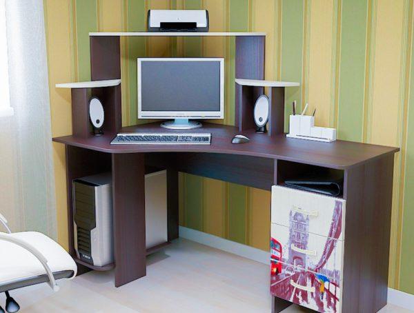 Где заказать удобный и недорогой компьютерный стол