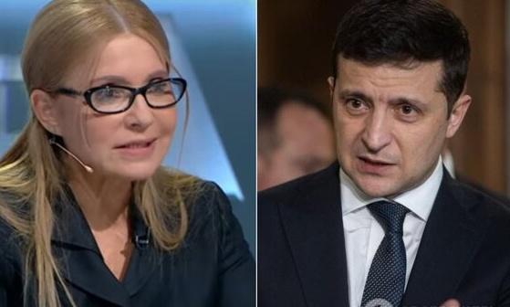 Зеленский отказал Тимошенко в трех должностях