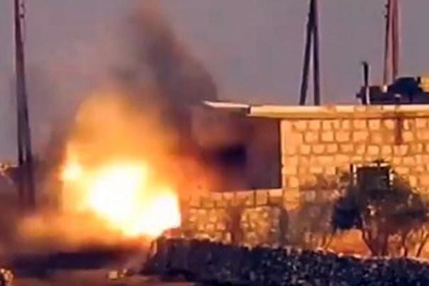 В Сирии российских военных обстреляли из ПТУРа: видео