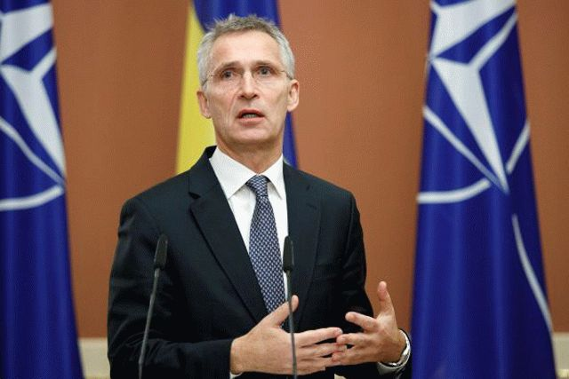 Столтенберг назвал войну на Донбассе угрозой для всей Европы