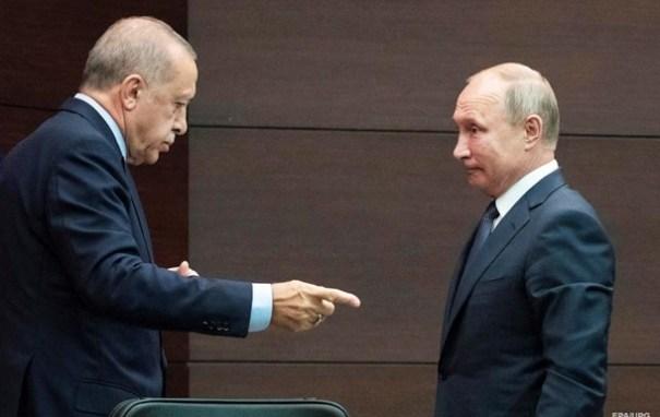 Эрдоган позвонил Путину после убийства турецких военных