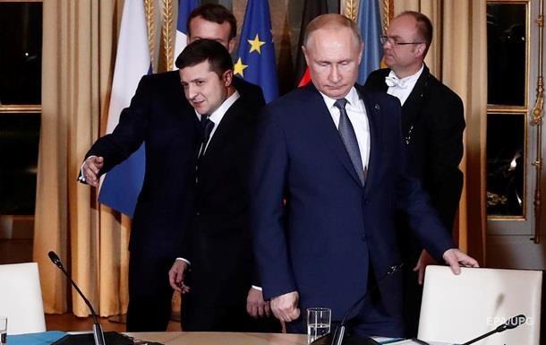Путин заявил о намерении договориться с Зеленским
