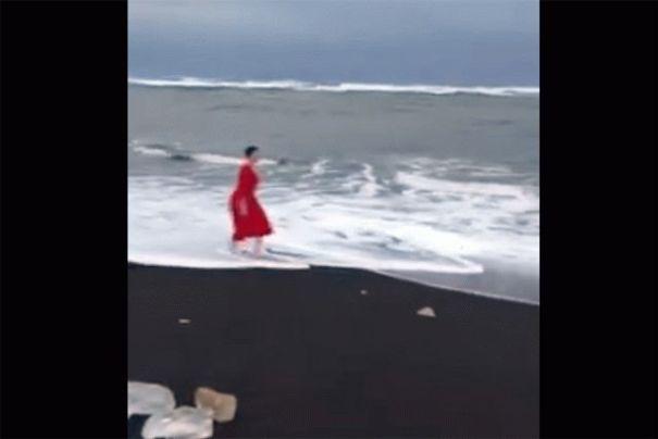 Савченко искупалась в Северном Ледовитом океане: появилось видео