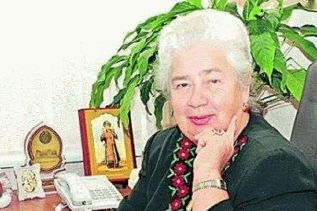 Умерла бывшая глава Верховной Рады Валентина Шевченко