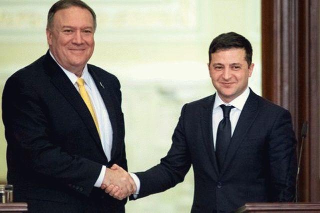 Зеленский попросил Помпео отменить пошлины для Украины