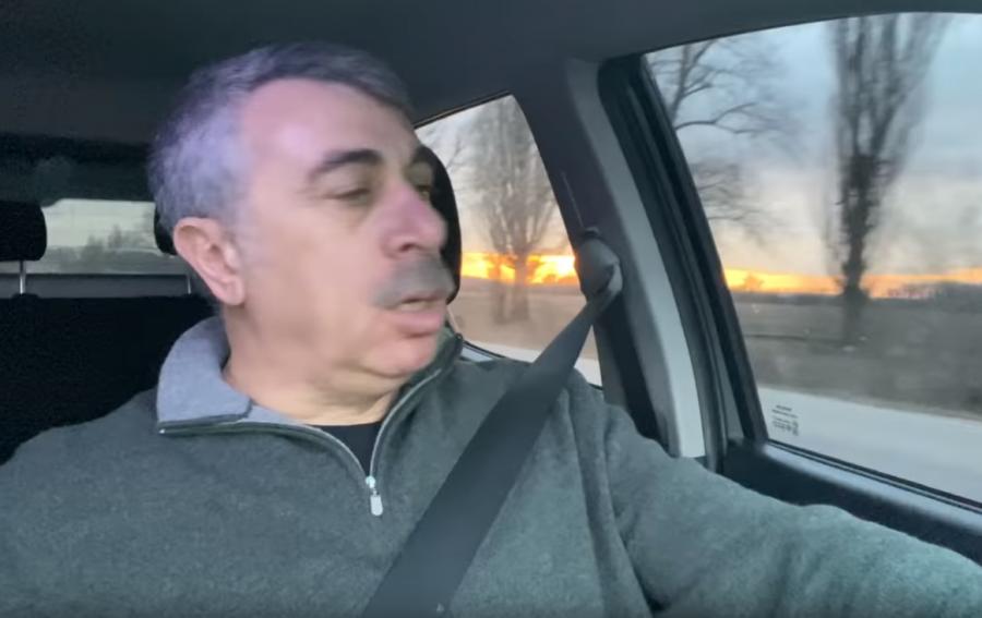 Доктор Комаровский рассказал, что произошло в Новых Санжарах