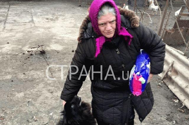 У Зеленского проверили благосостояние пенсионерки с собакой