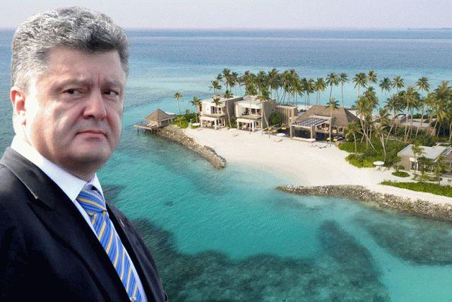 Порошенко допросили по делу об отдыхе на Мальдивах