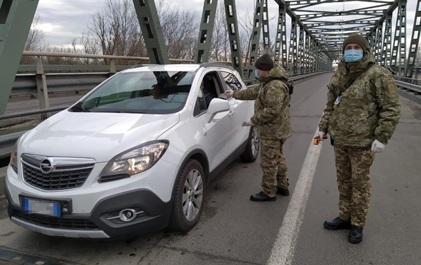 Украина ужесточает режим пропуска в страну