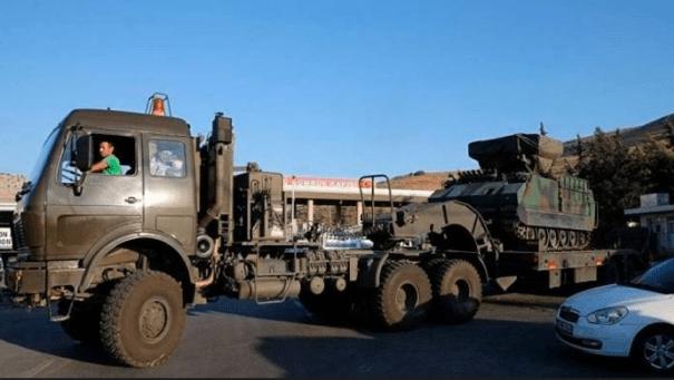 Российские военные понесли в Сирии большие потери и отступают