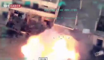 Турция разбомбила вертолеты российских военных в Сирии