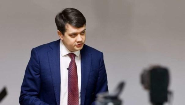 Разумков жестко отреагировал на видео о брате Ермака