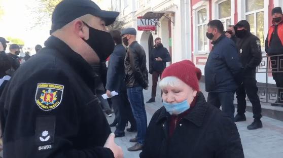 В Украине предприниматели вышли на протесты