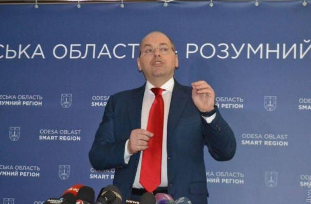 Новый министр здравоохранения Степанов обратился к украинцам