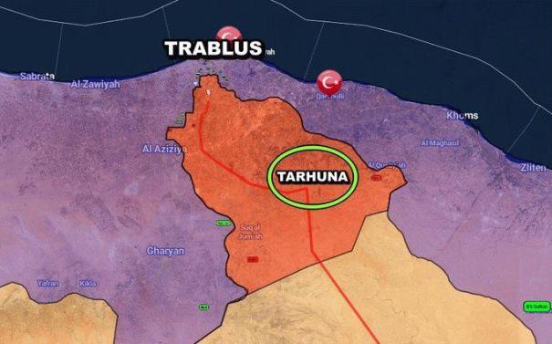 Турки уничтожили военную колонну ЧВК Вагнера в Ливии