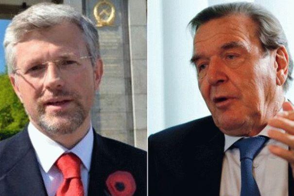 Посол Мельник резко ответил на слова Шредера о карлике из Украины