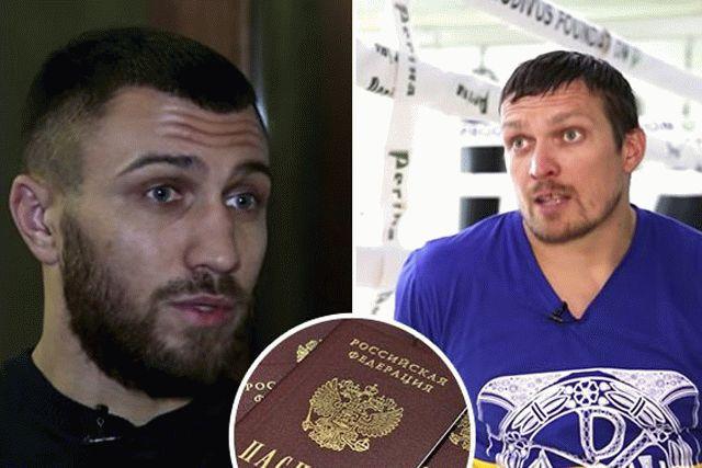 Кремлев предложил Усику и Ломаченко российское гражданство