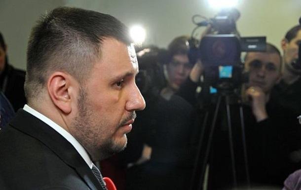 Суд отменил арест министра времен Януковича