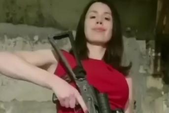 Против Черновол открыли дело из-за ее автомата