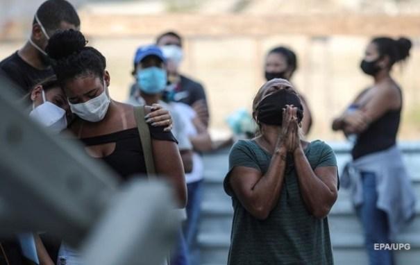 В Бразилии и других странах Южной Америки новая вспышка коронавируса