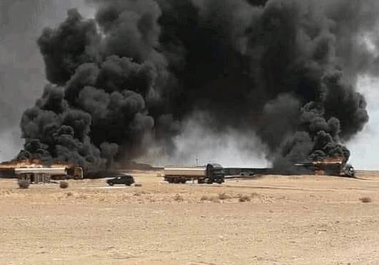 Турки уничтожили транспорт с наемниками ЧВК Вагнера в Ливии