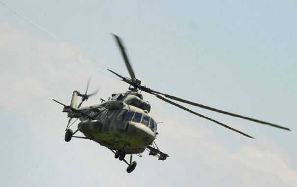 Под Москвой разбился военный вертолет Ми-8