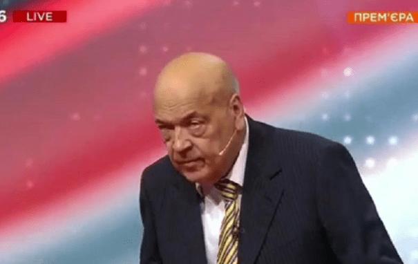 Геннадий Москаль в прямом эфире предположительно перенес инсульт