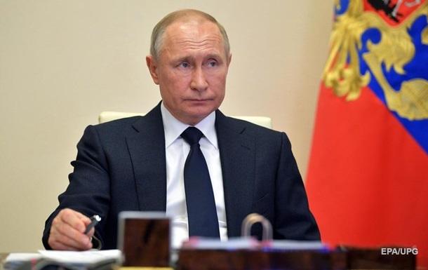 Путин поздравил народ Украины с годовщиной Победы
