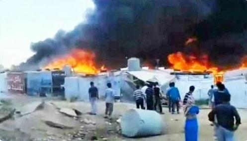 Российскую бронетехнику в Сирии забросали камнями: видео