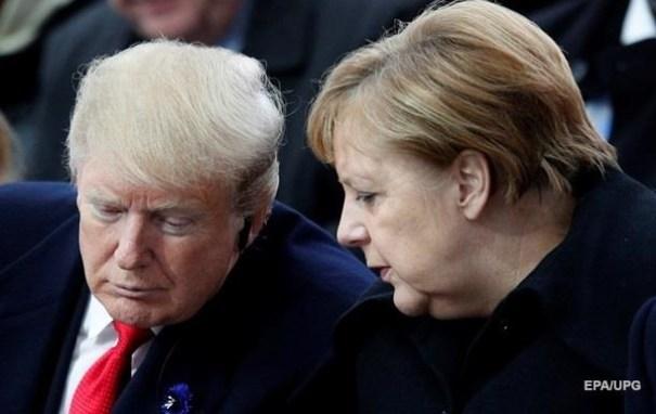 Трамп и Меркель поспорили из-за Северного потока-2