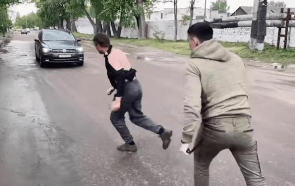 Ветеран АТО без ноги избил водителя маршрутки