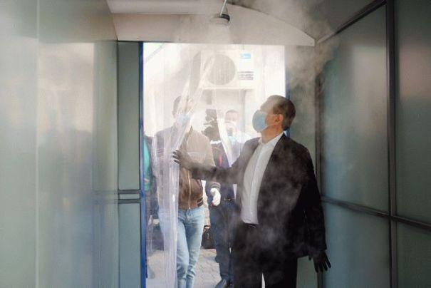 В резиденции Путина установили «санитарный коридор»