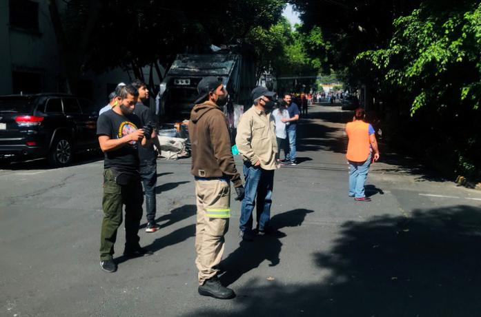 В Мексике к проблеме коронавируса добавилось землетрясение