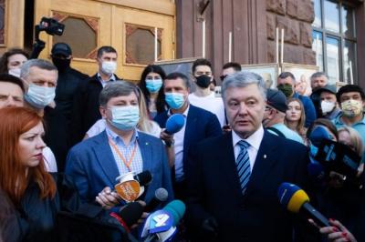 Порошенко в Офисе генпрокурора выясняет отношения с Венедиктовой