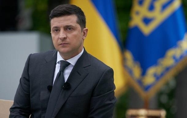 Опубликован новый рейтинг доверия президенту Зеленскому