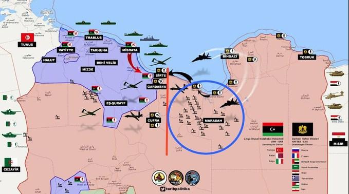Турки обозначили свои красные линии в Ливии. Конфликт с Россией неизбежен