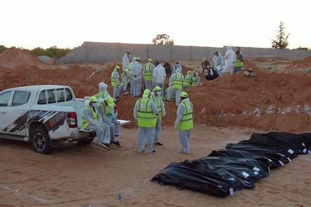 Найдена новая братская могила с убитыми боевиками ЧВК Вагнера жителями Ливии