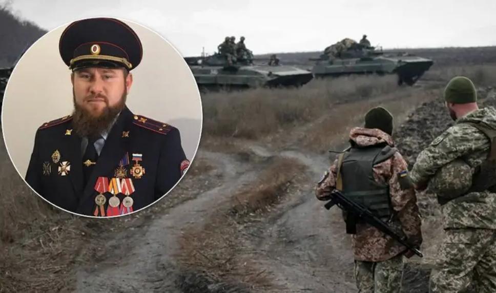 Командир полка Кадырова признался в участии в войне на Донбассе