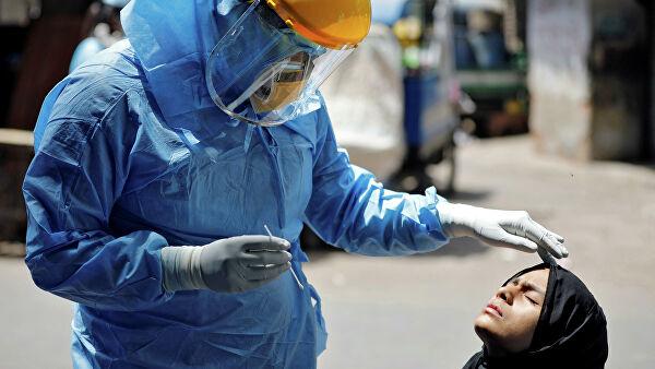 В Индии коронавирусом заболели миллион человек