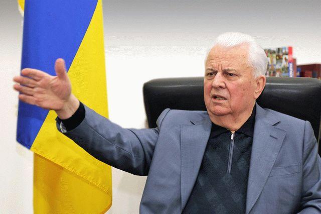Кравчук назвал первый шаг к миру на Донбассе