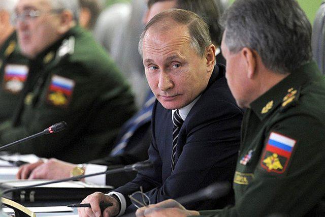 Путин начал внезапную проверку войск на границе с Украиной