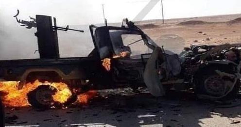 В Сирии российские наемники подорвали авто на границе с Турцией