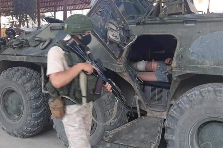 Турки уничтожили в Сирии узел связи с тремя российскими военными