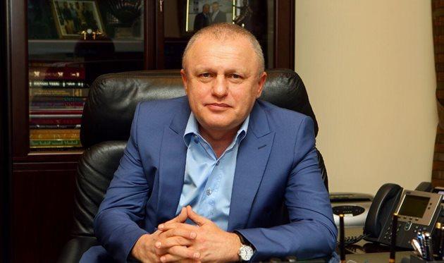 Суркис провел с Луческу новые переговоры