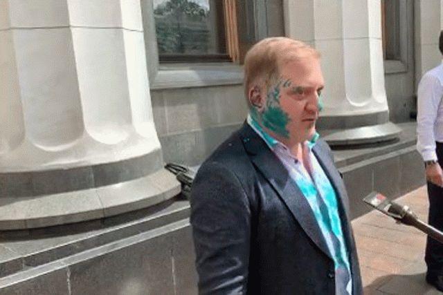 Погребинский написал встречное заявление на нардепа Волошина