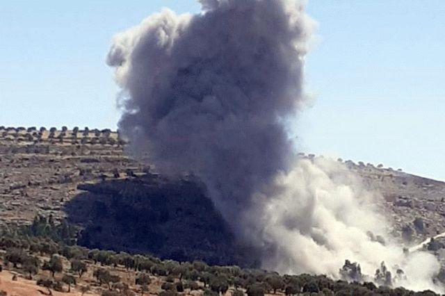 Российские самолеты нанесли авиаудар по турецкой части Сирии