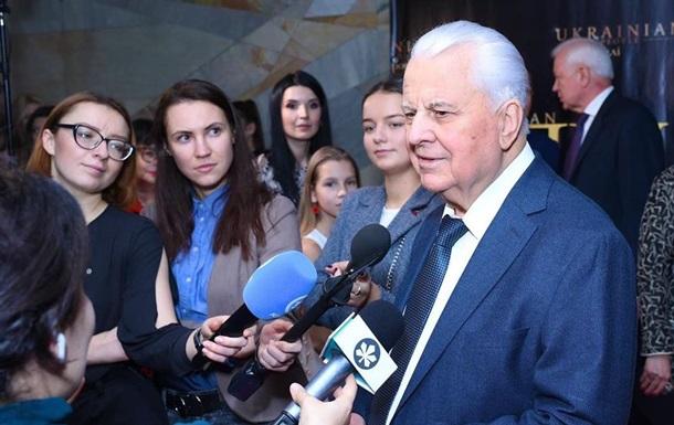 Кравчук предложил перенести работу ТКГ из Минска в Швецию